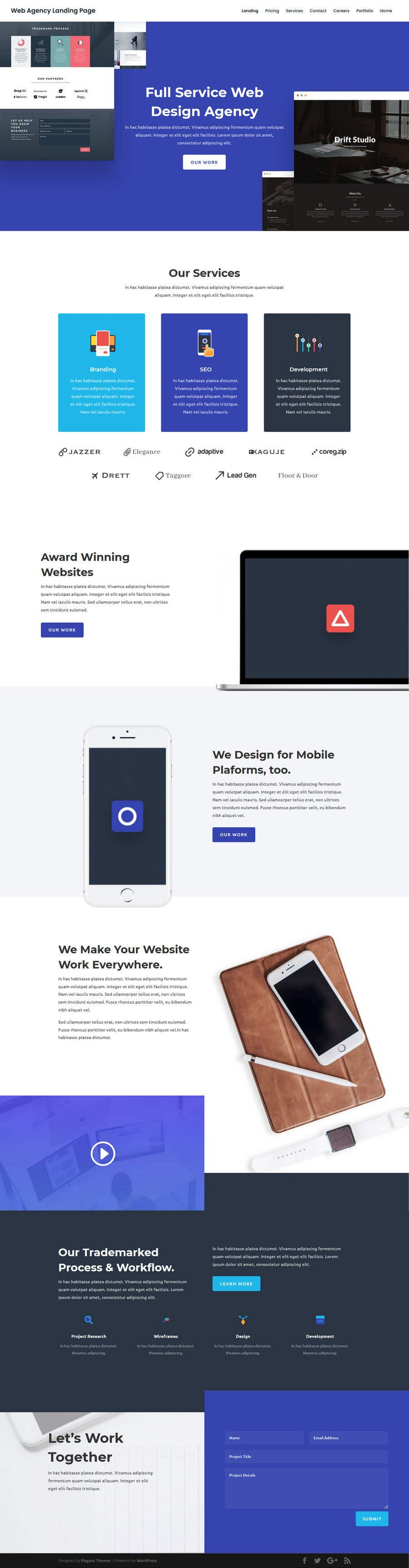 Bài tham dự cuộc thi #                                        39                                      cho                                         I need a Landing Page Website for Small Business Stores