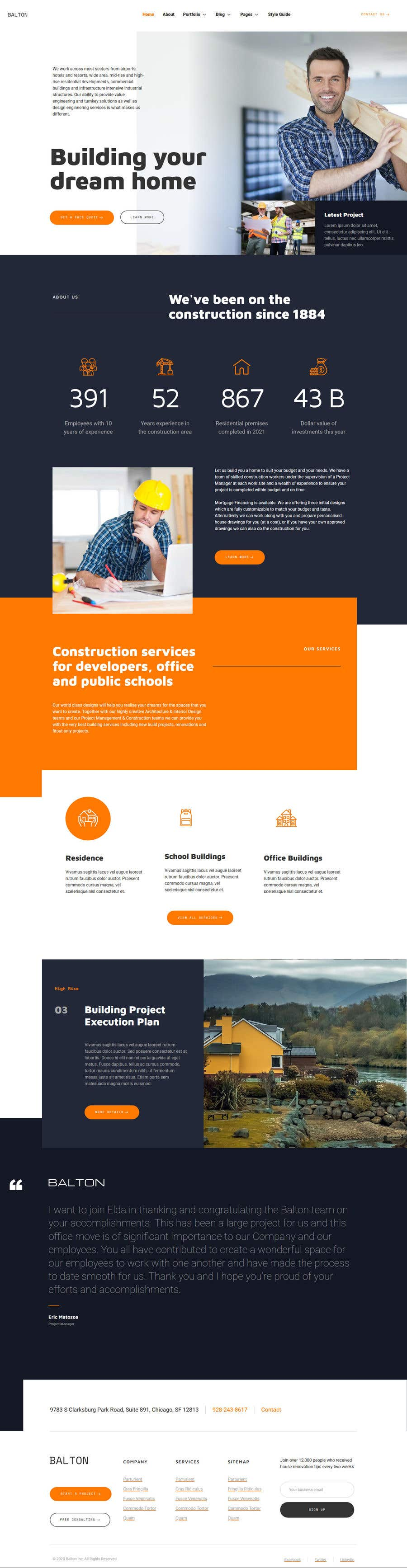 Bài tham dự cuộc thi #                                        56                                      cho                                         I need a Landing Page Website for Small Business Stores