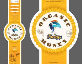 #25 for Cover Design 02 _ Honey Bottle Sticker af LaGogga