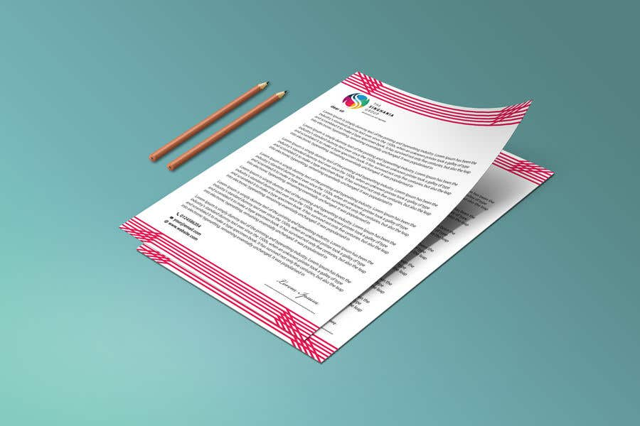 Contest Entry #                                        37                                      for                                         A premium letterhead to be designed.