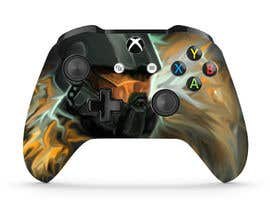 #72 for Design a Game Controller skin (long term position available) af prakash777pati