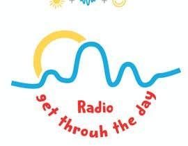 #33 untuk Looking for a logo for a radio show. The radio show is Get Through the Day Radio. oleh yanbra