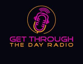 #16 untuk Looking for a logo for a radio show. The radio show is Get Through the Day Radio. oleh mdbaraktalukder