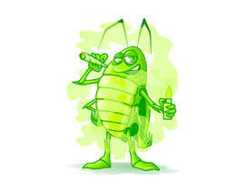 #49 pentru Roach Cartoon Character for a new website - 20/01/2021 20:06 EST de către peshan