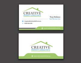 #69 untuk Design some Business Cards for Creative Property Consultants oleh angelacini