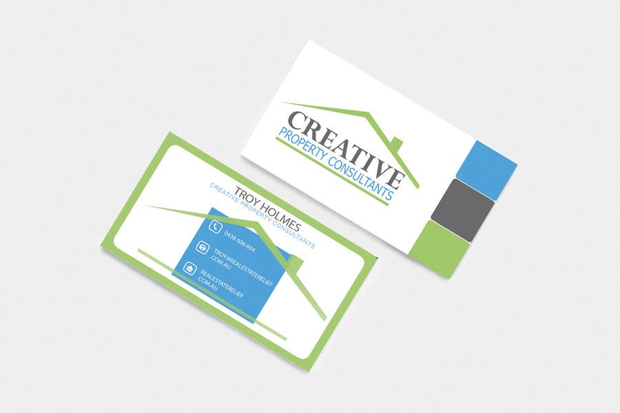 Konkurrenceindlæg #                                        133                                      for                                         Design some Business Cards for Creative Property Consultants