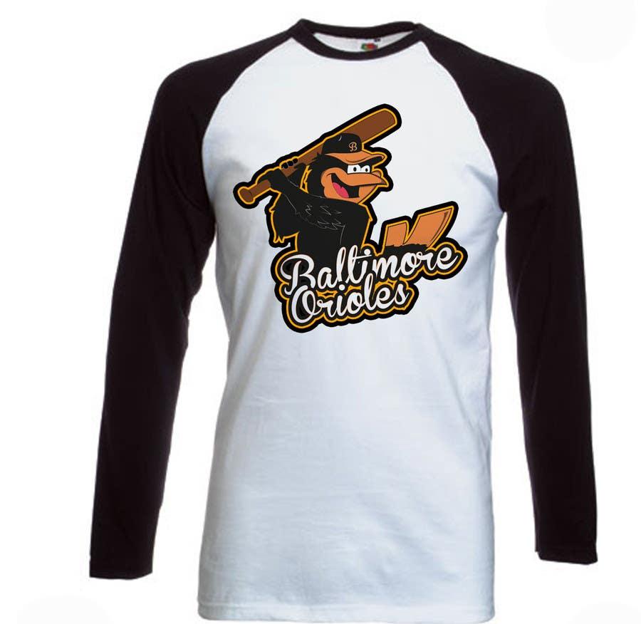 Inscrição nº                                         10                                      do Concurso para                                         Baltimore Orioles Custom T-shirt design