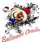 Graphic Design Inscrição do Concurso Nº5 para Baltimore Orioles Custom T-shirt design