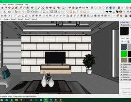 nº 5 pour Design Living Room par sohag0924