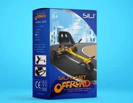 Nro 27 kilpailuun Packaging Design - Colour Outer Box for Kids Toy (Hoverkart) käyttäjältä JoGuillenA20