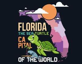 #326 для FLORIDA SEA TURTLE T- SHIRT DESIGN от MohammadYeasir