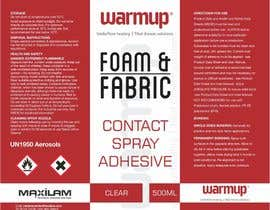 #5 untuk Design an attention grabbing label for aerosol oleh creazinedesign