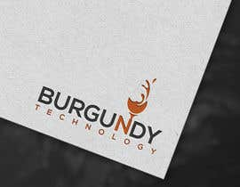 #136 pentru Burgundy Technology Logo Creation de către mdazizulhoq7753