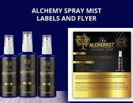 #123 cho Alchemy Spray Mist Labels and Flyer bởi TheCloudDigital