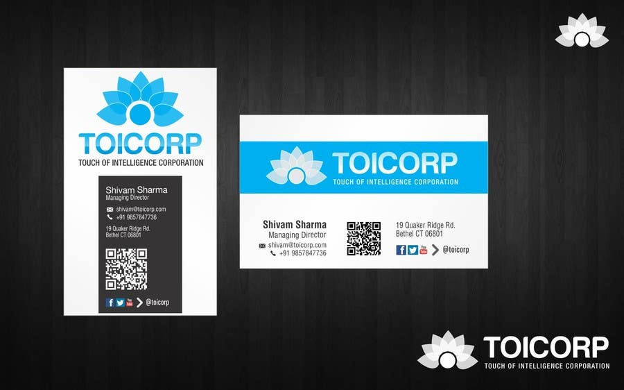 Contest Entry #                                        28                                      for                                         Logo & Stationery & Business Card Design for Touch of Intelligence Corporation