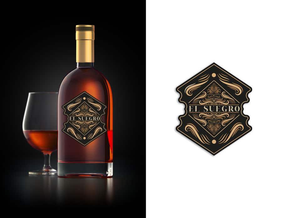 Kilpailutyö #                                        105                                      kilpailussa                                         Design logo + display on bottle