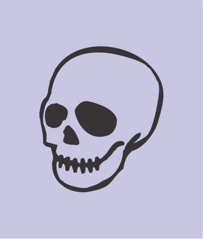 Contest Entry #                                        67                                      for                                         I'm a jewelry designer and I'm looking for a very unique cool skull design. That is closed with no outside openings. This is for jewelry. I attached an example. But be very unique and do not copy this example. It's just for simplicity.