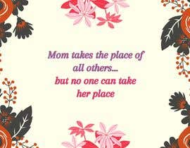 #35 cho Mom takes the place of all others bởi zaffrihashime