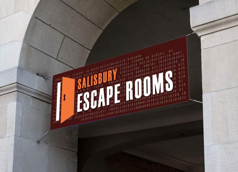 Kilpailutyö #                                        31                                      kilpailussa                                         escape room signage