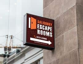 #12 for escape room signage by alberhoh