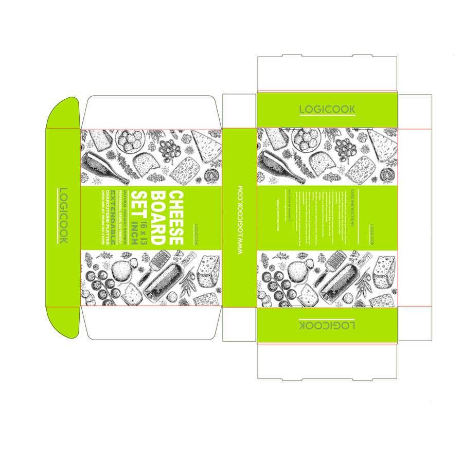 Kilpailutyö #                                        24                                      kilpailussa                                         Create Box Packaging for Kitchen Product