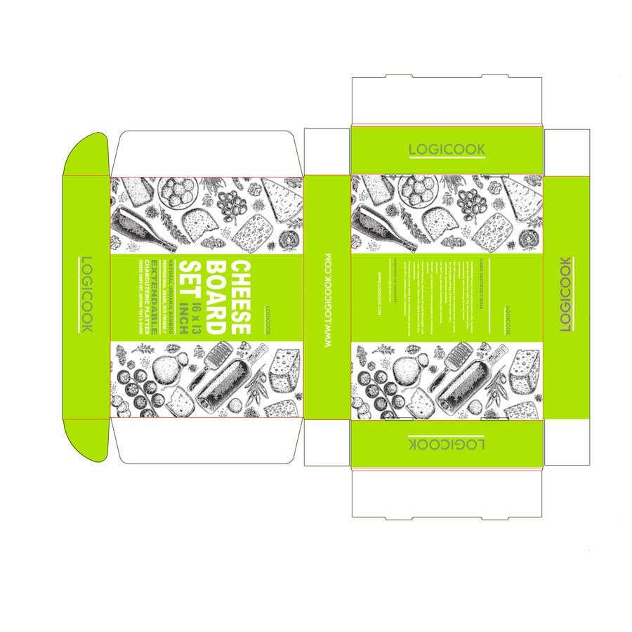 Kilpailutyö #                                        41                                      kilpailussa                                         Create Box Packaging for Kitchen Product