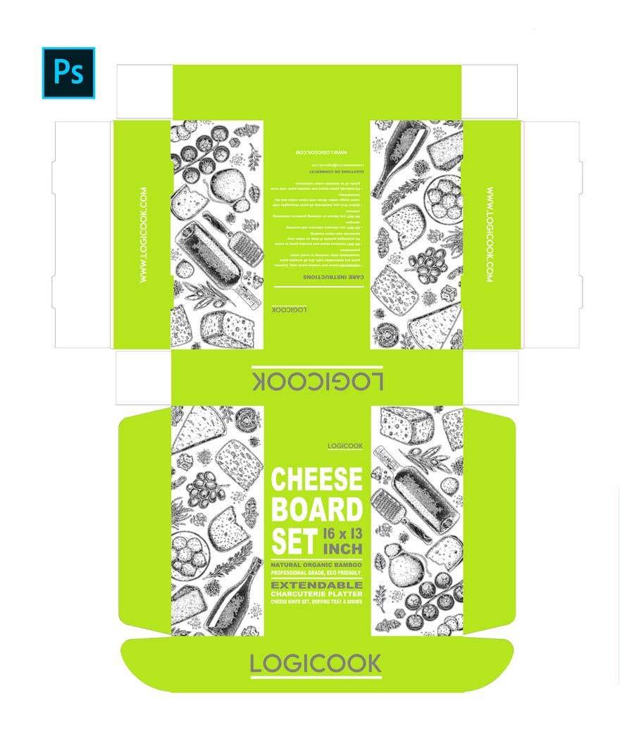 Kilpailutyö #                                        40                                      kilpailussa                                         Create Box Packaging for Kitchen Product