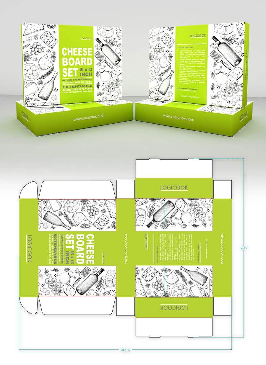 Kilpailutyö #                                        14                                      kilpailussa                                         Create Box Packaging for Kitchen Product
