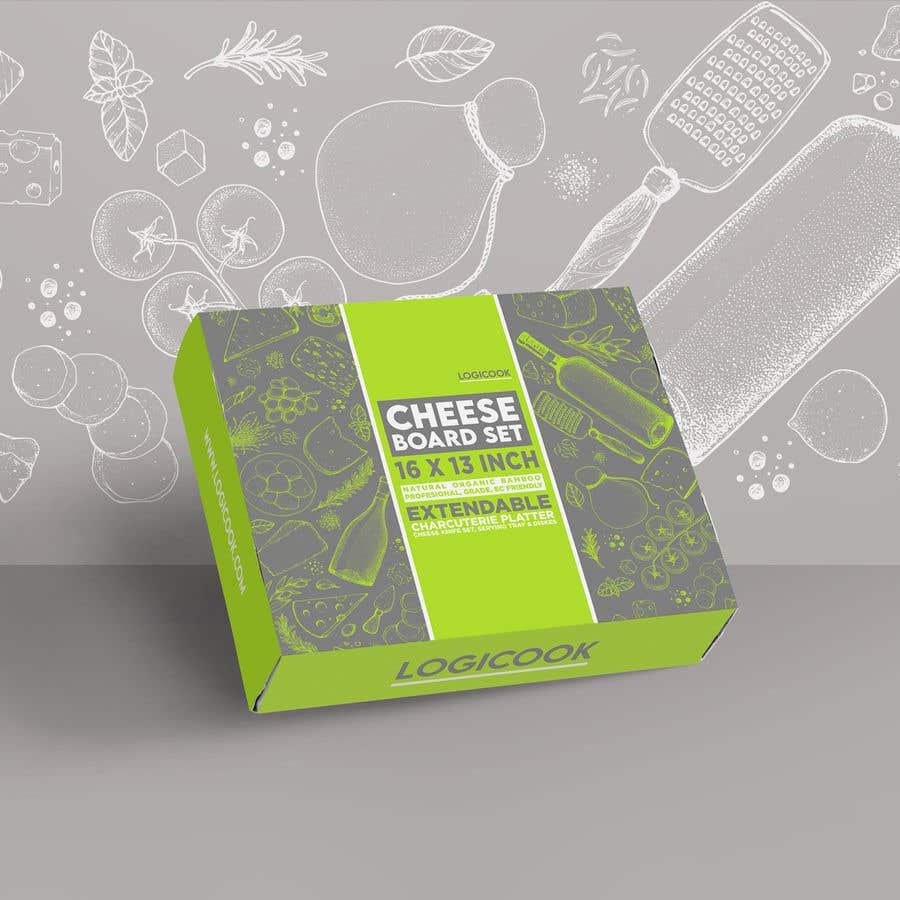 Kilpailutyö #                                        34                                      kilpailussa                                         Create Box Packaging for Kitchen Product