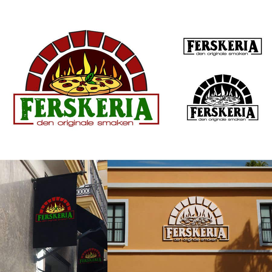 Penyertaan Peraduan #                                        11                                      untuk                                         Build a logo for a pizzeria under a food chain brand name.