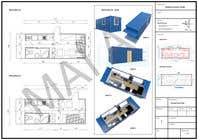 Bài tham dự #5 về CAD/CAM cho cuộc thi Shipping container conversion to site accommodation unit