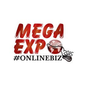 #25 cho Design a Logo for a event name `#ONLINEBIZ MEGA EXPO 2015 bởi malg321