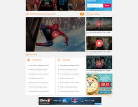 nº 14 pour design for video site par hamzakrissaane