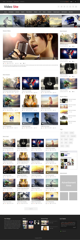 Inscrição nº 2 do Concurso para design for video site