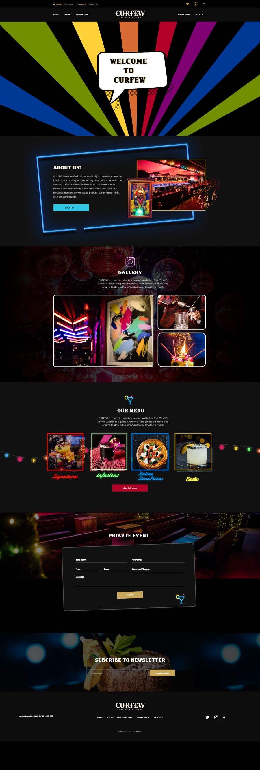 Contest Entry #                                        161                                      for                                         Design FUN Website for Speakeasy Concept
