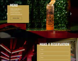 #106 for Design FUN Website for Speakeasy Concept by saidesigner87