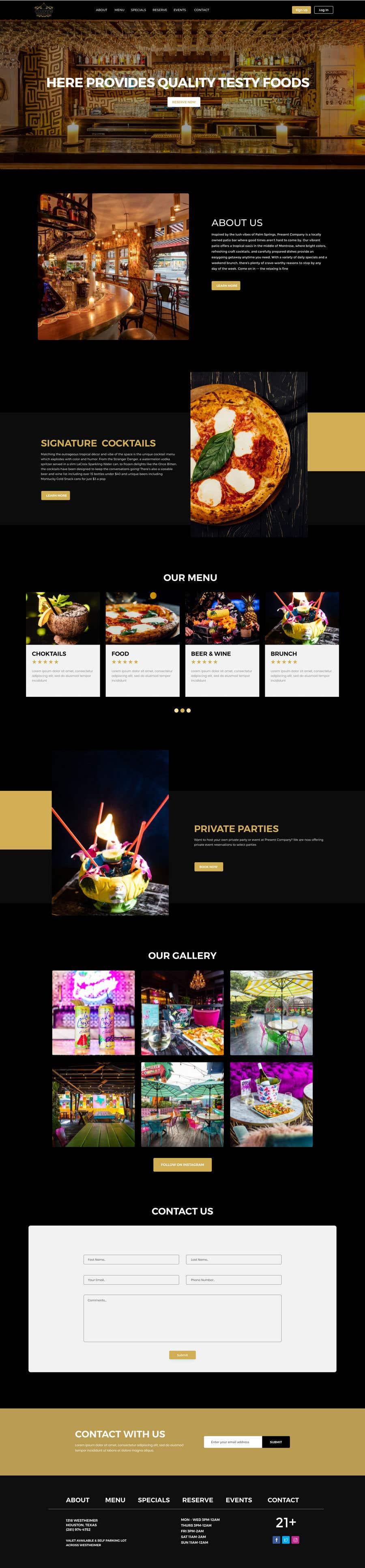 Contest Entry #                                        159                                      for                                         Design FUN Website for Speakeasy Concept