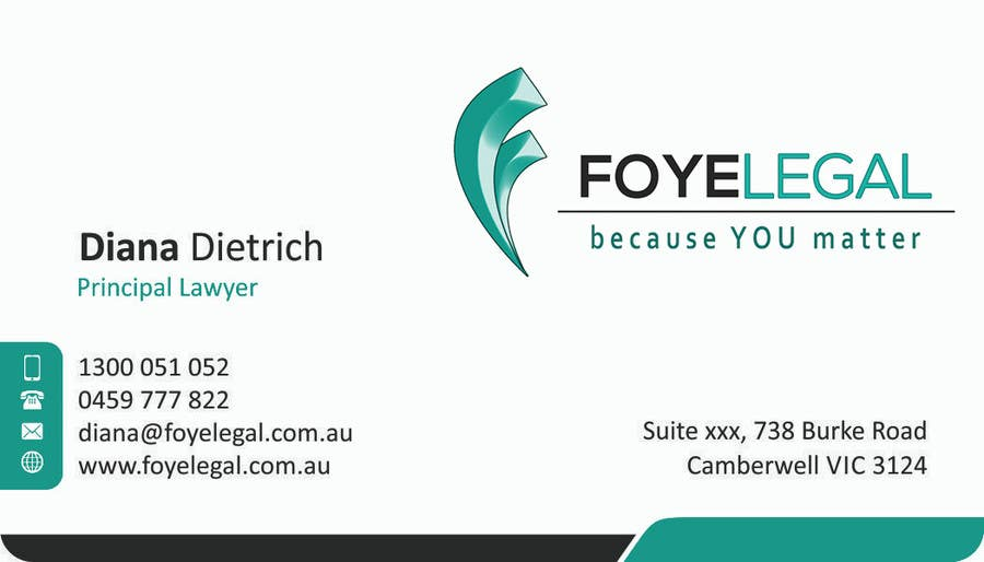 Contest Entry #                                        14                                      for                                         Re-design a Logo/Brand and Stationery for Legal Business
