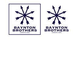 #10 for Design a Logo for BAYNTON BROTHERS by littlenaka