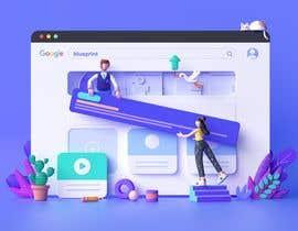 #8 for 3d Motion design for website landing page af hemelhafiz
