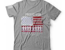 #92 for Distressed US Flag Patriot T-Shirt Design - 27/01/2021 02:53 EST by bdmah