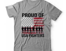 #93 for Distressed US Flag Patriot T-Shirt Design - 27/01/2021 02:53 EST by bdmah