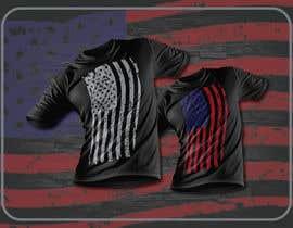 #103 for Distressed US Flag Patriot T-Shirt Design - 27/01/2021 02:53 EST by mohonamm13