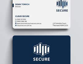 #472 for Cloud Secure Needs business card af techatiq378