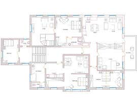 #13 for Create a new layout for refurbishment of an upper floor in .pdf and .dwg af momensafwat
