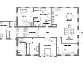 #9 for Create a new layout for refurbishment of an upper floor in .pdf and .dwg af deontan