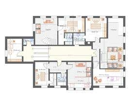 #22 for Create a new layout for refurbishment of an upper floor in .pdf and .dwg af mesmeriem