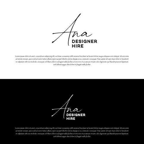 Конкурсная заявка №                                        1215                                      для                                         Ana Designer Hire