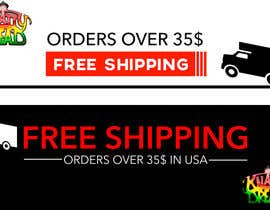 #24 for Create a banner ad for free shipping by ParbatA