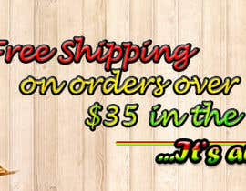 #9 for Create a banner ad for free shipping by silverwingnorth